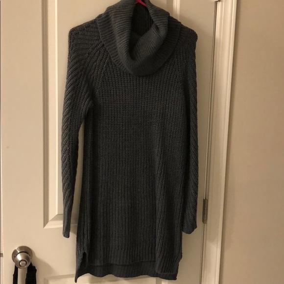 Dresses & Skirts - Charcoal Gray sweater dress